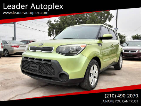 2014 Kia Soul for sale at Leader Autoplex in San Antonio TX