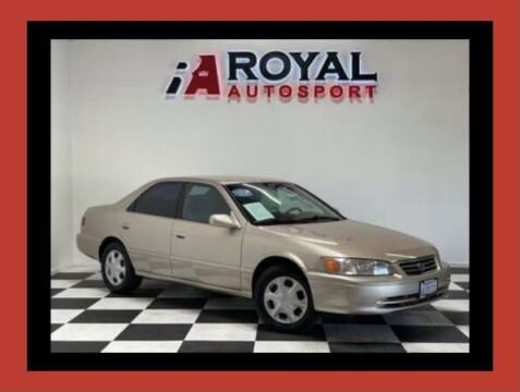 2000 Toyota Camry for sale at Royal AutoSport in Sacramento CA