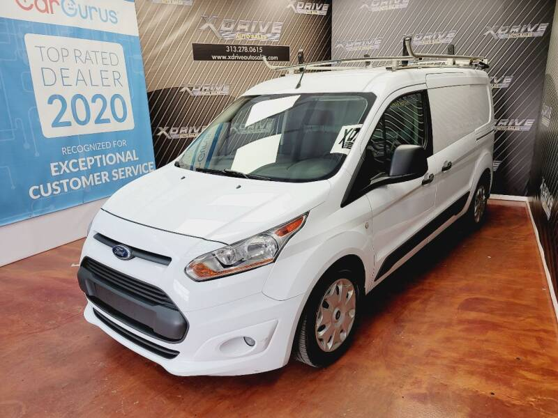 2016 Ford Transit Connect Cargo for sale at X Drive Auto Sales Inc. in Dearborn Heights MI