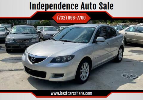 2007 Mazda MAZDA3 for sale at Independence Auto Sale in Bordentown NJ