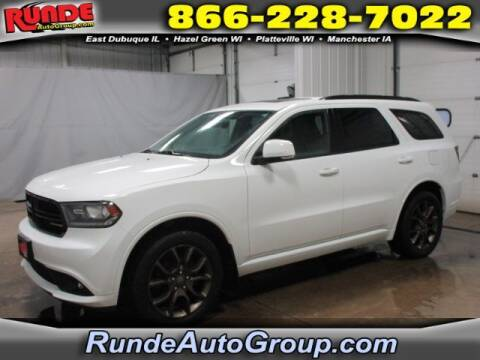 2017 Dodge Durango for sale at Runde Chevrolet in East Dubuque IL