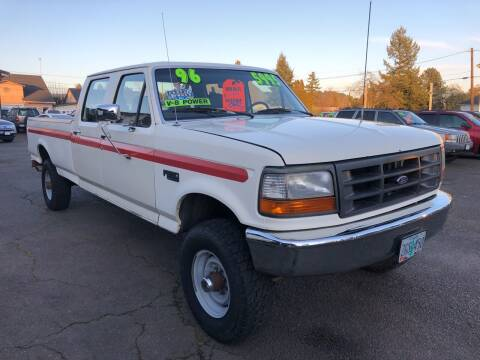 1996 Ford F-350 for sale at Freeborn Motors in Lafayette, OR