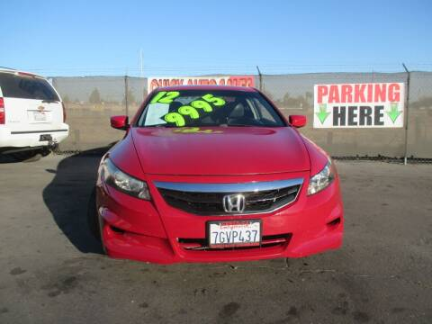 2012 Honda Accord for sale at Quick Auto Sales in Modesto CA