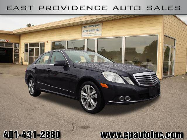 2010 Mercedes-Benz E-Class for sale at East Providence Auto Sales in East Providence RI