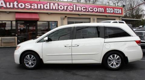 2015 Honda Odyssey for sale at Autos and More Inc in Knoxville TN