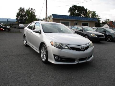 2014 Toyota Camry for sale at Supermax Autos in Strasburg VA