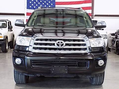 2010 Toyota Sequoia for sale at Texas Motor Sport in Houston TX