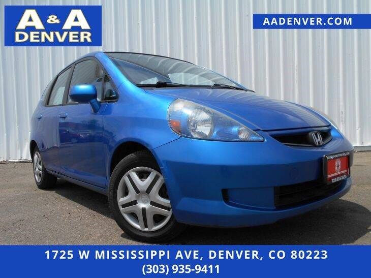 2008 Honda Fit for sale at A & A AUTO LLC in Denver CO