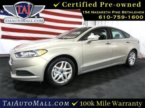 2016 Ford Fusion for sale at Taj Auto Mall in Bethlehem PA