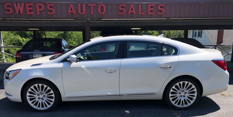 2014 Buick LaCrosse for sale at Swep's Auto Sales in Factoryville PA