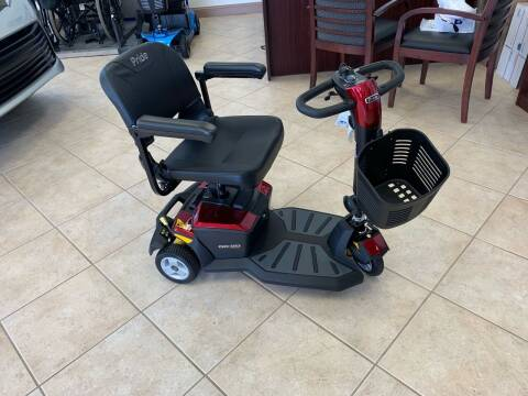 Pride Mobility LX With CTS Suspension 3-Wheel for sale at Adaptive Mobility Wheelchair Vans in Seekonk MA