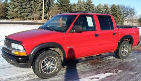 2002 Chevrolet S-10 for sale at Rapp Motors in Marion SD