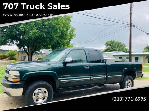 2001 Chevrolet Silverado 2500HD for sale at 707 Truck Sales in San Antonio TX