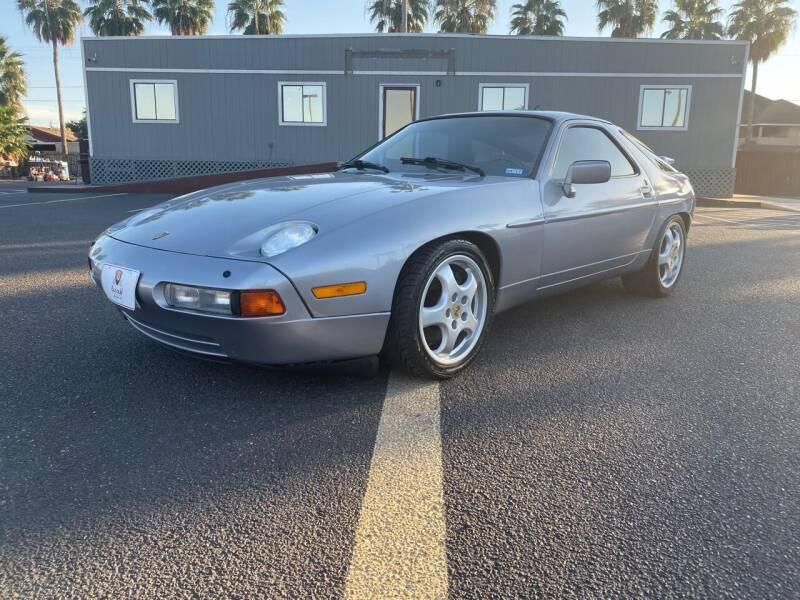 1989 Porsche 928 for sale at Barrett Auto Gallery in San Juan TX