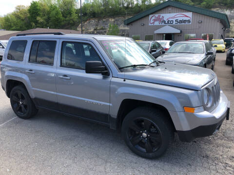 2014 Jeep Patriot for sale at Gilly's Auto Sales in Rochester MN