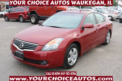 2008 Nissan Altima for sale at Your Choice Autos - Waukegan in Waukegan IL