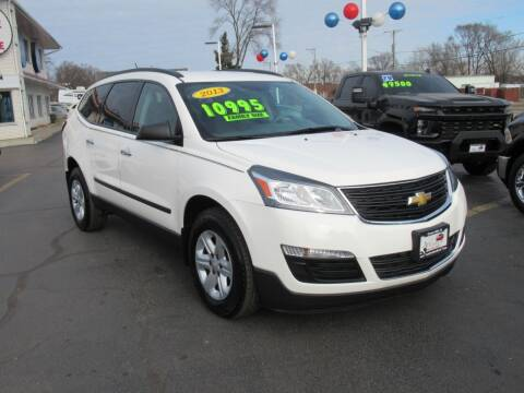 2013 Chevrolet Traverse for sale at Auto Land Inc in Crest Hill IL