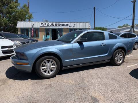 2007 Ford Mustang for sale at Top Gun Auto Sales, LLC in Albuquerque NM
