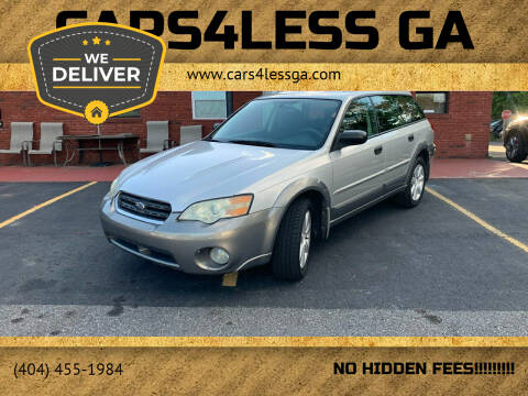 2006 Subaru Outback for sale at Cars4Less GA in Alpharetta GA