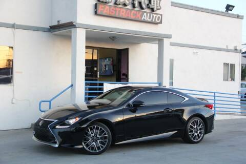 2017 Lexus RC 350 for sale at Fastrack Auto Inc in Rosemead CA