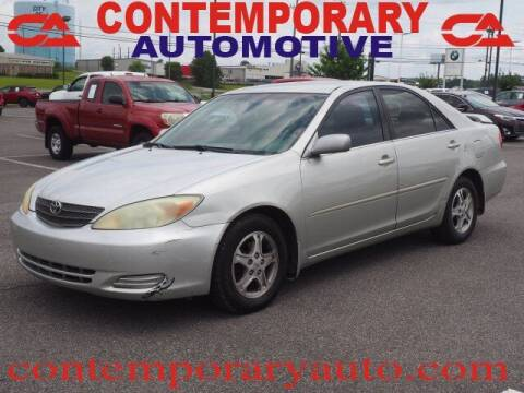 2002 Toyota Camry for sale at Contemporary Auto in Tuscaloosa AL