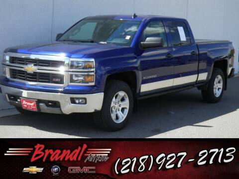 2014 Chevrolet Silverado 1500 for sale at Brandl GM in Aitkin MN