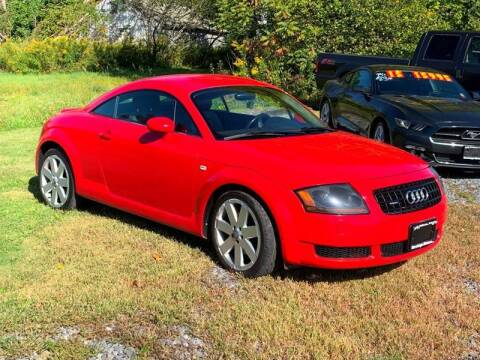 2003 Audi TT for sale at Saratoga Motors in Gansevoort NY