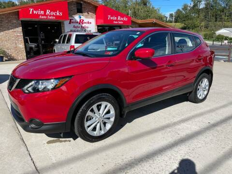 2018 Nissan Rogue Sport for sale at Twin Rocks Auto Sales LLC in Uniontown PA