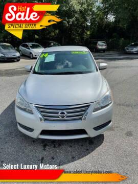 2014 Nissan Sentra for sale at Select Luxury Motors in Cumming GA