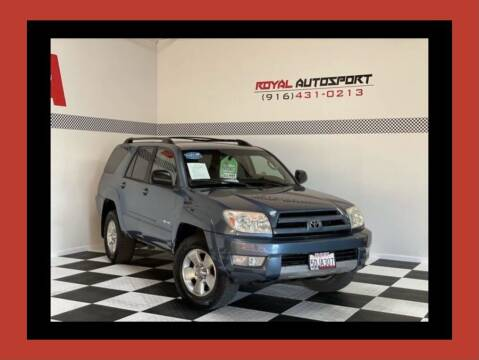 2004 Toyota 4Runner for sale at Royal AutoSport in Sacramento CA