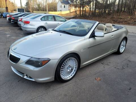 2004 BMW 6 Series for sale at GA Auto IMPORTS  LLC in Buford GA