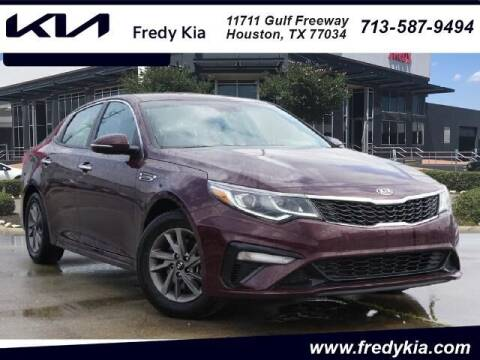 2020 Kia Optima for sale at FREDY KIA USED CARS in Houston TX