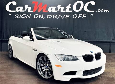 2011 BMW M3 for sale at CarMart OC in Costa Mesa, Orange County CA
