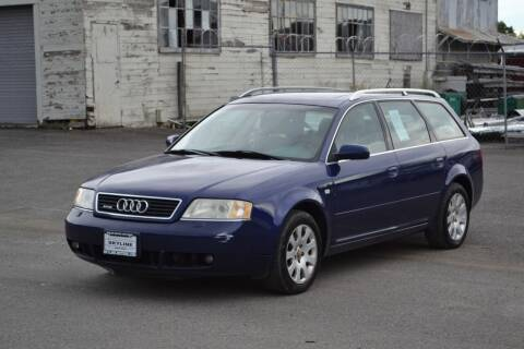 1999 Audi Allroad for sale at Skyline Motors Auto Sales in Tacoma WA