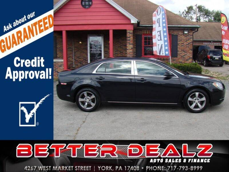 2011 Chevrolet Malibu for sale at Better Dealz Auto Sales & Finance in York PA