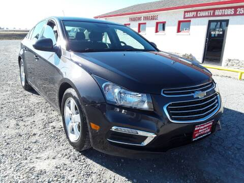 2016 Chevrolet Cruze Limited for sale at Sarpy County Motors in Springfield NE