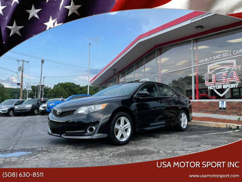 2013 Toyota Camry for sale at USA Motor Sport inc in Marlborough MA