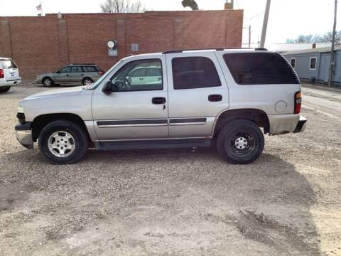 2005 Chevrolet Tahoe for sale at Paris Fisher Auto Sales Inc. in Chadron NE