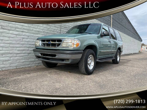 1998 Ford Explorer for sale at A Plus Auto Sales LLC in Denver CO