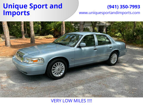 2009 Mercury Grand Marquis for sale at Unique Sport and Imports in Sarasota FL