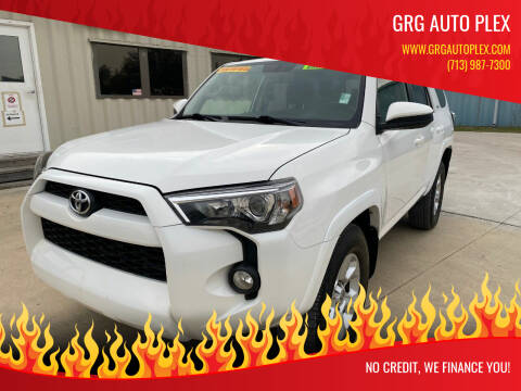 2018 Toyota 4Runner for sale at GRG Auto Plex in Houston TX