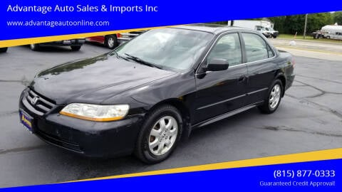2002 Honda Accord for sale at Advantage Auto Sales & Imports Inc in Loves Park IL