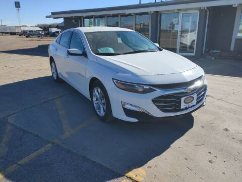 2020 Chevrolet Malibu for sale at BERG AUTO MALL & TRUCKING INC in Beresford SD