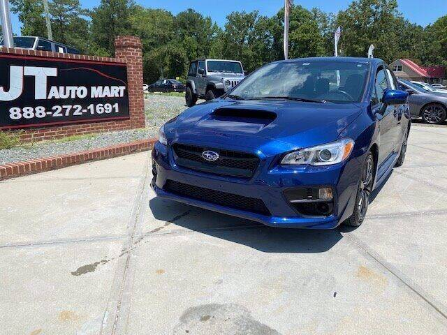 2015 Subaru WRX for sale at J T Auto Group in Sanford NC