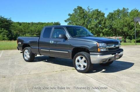 2004 Chevrolet Silverado 1500 for sale at Priority One Auto Sales in Stokesdale NC
