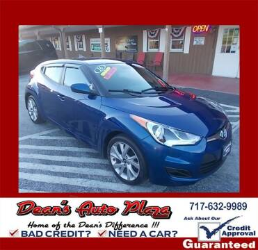 2016 Hyundai Veloster for sale at Dean's Auto Plaza in Hanover PA
