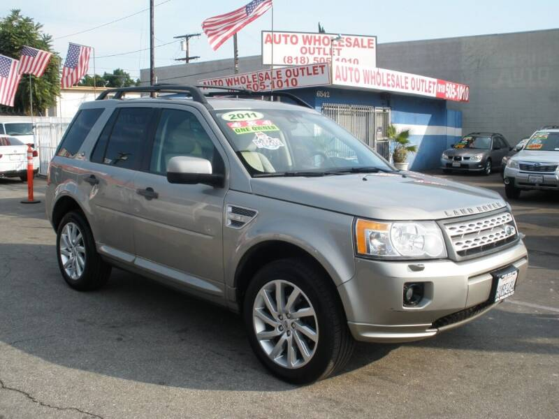 2011 Land Rover LR2 for sale at AUTO WHOLESALE OUTLET in North Hollywood CA