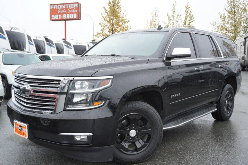 2015 Chevrolet Tahoe for sale at Frontier Auto & RV Sales in Anchorage AK