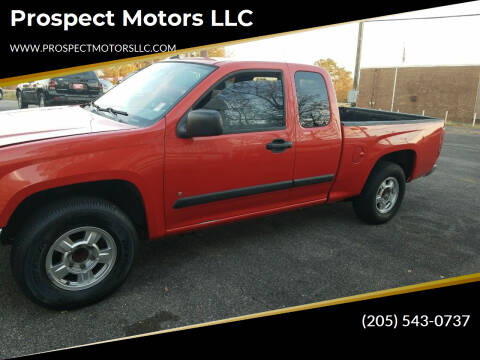 2008 Chevrolet Colorado for sale at Prospect Motors LLC in Adamsville AL