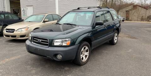 2004 Subaru Forester for sale at Manchester Auto Sales in Manchester CT